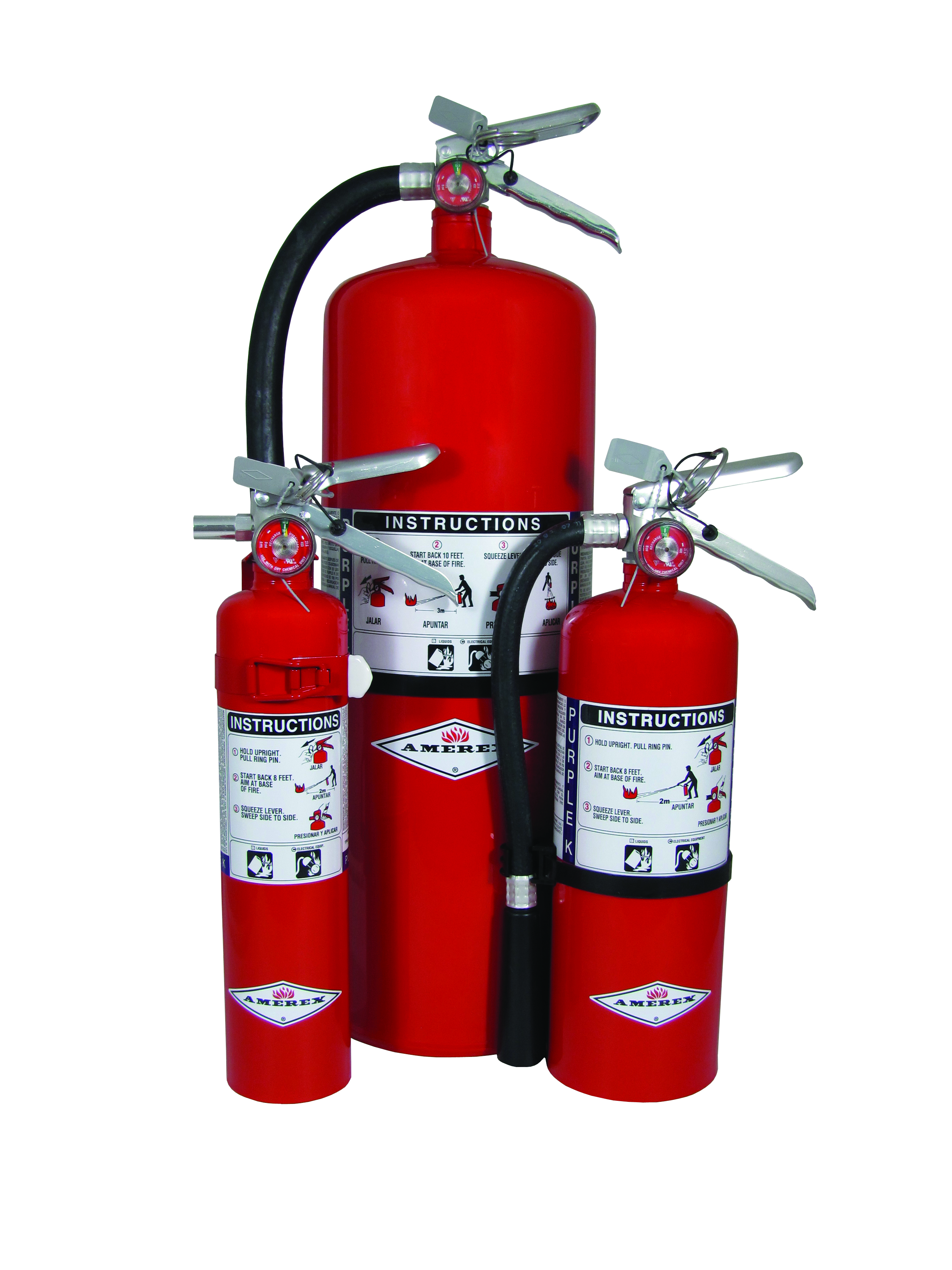 purple k stored pressure dry chemical extinguishers amerex fire